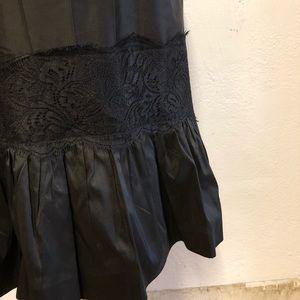 LOFT Skirts - Ann Taylor Loft Black Silk Skirt, 6